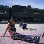 Halasana Chillin' at Kyakhta Border Crossing
