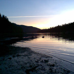 Night's Camp at Lemolo Lake Oregon