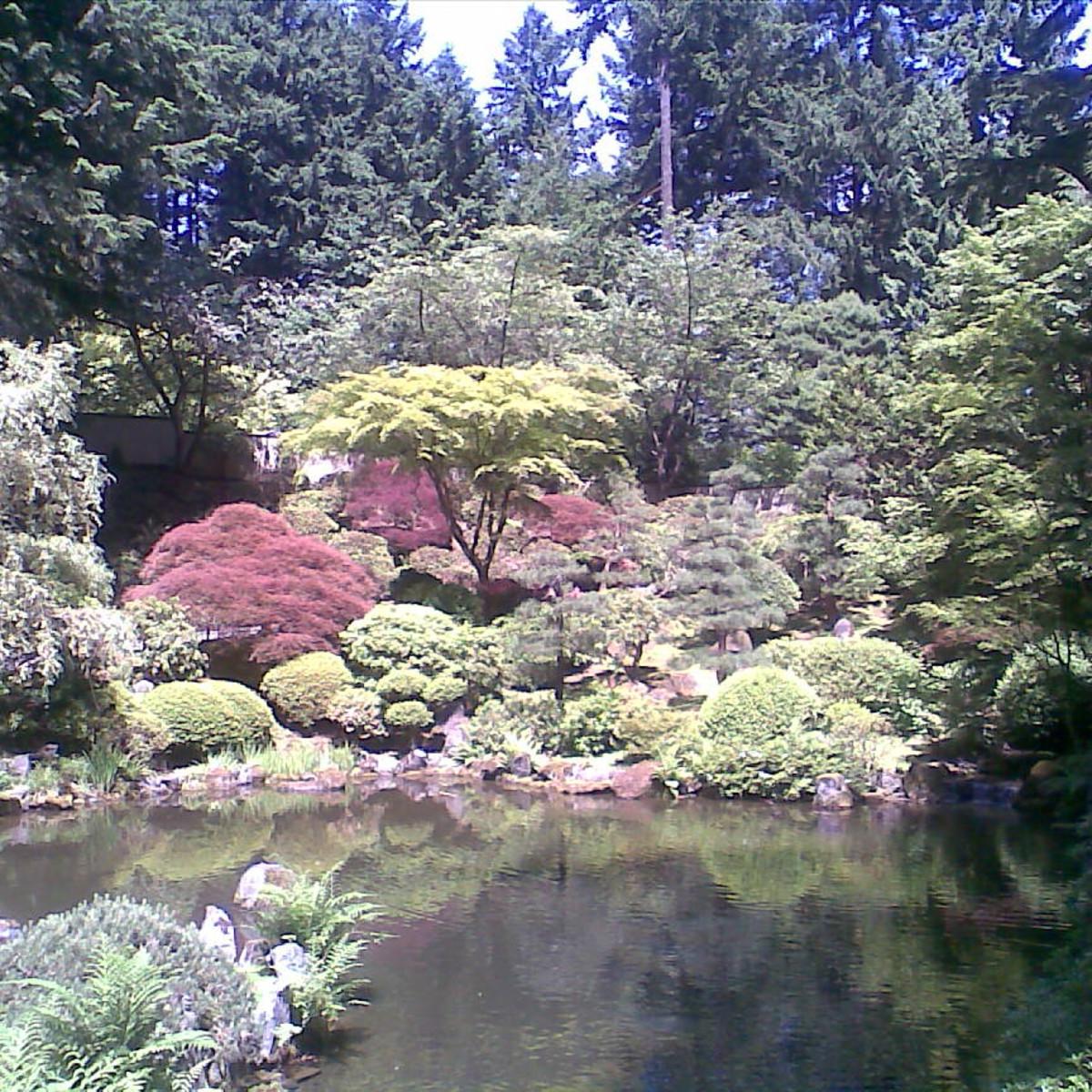 Japanese Gardens In Portland Oregon David Mcnamara