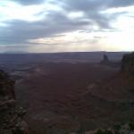 Sunset at Glen Canyon