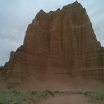 Temple of the Sun in Cathedral Valley