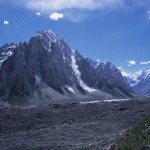 Crossing Glacier on Rush Phari Trek