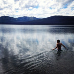 Swimming Glacial Waters