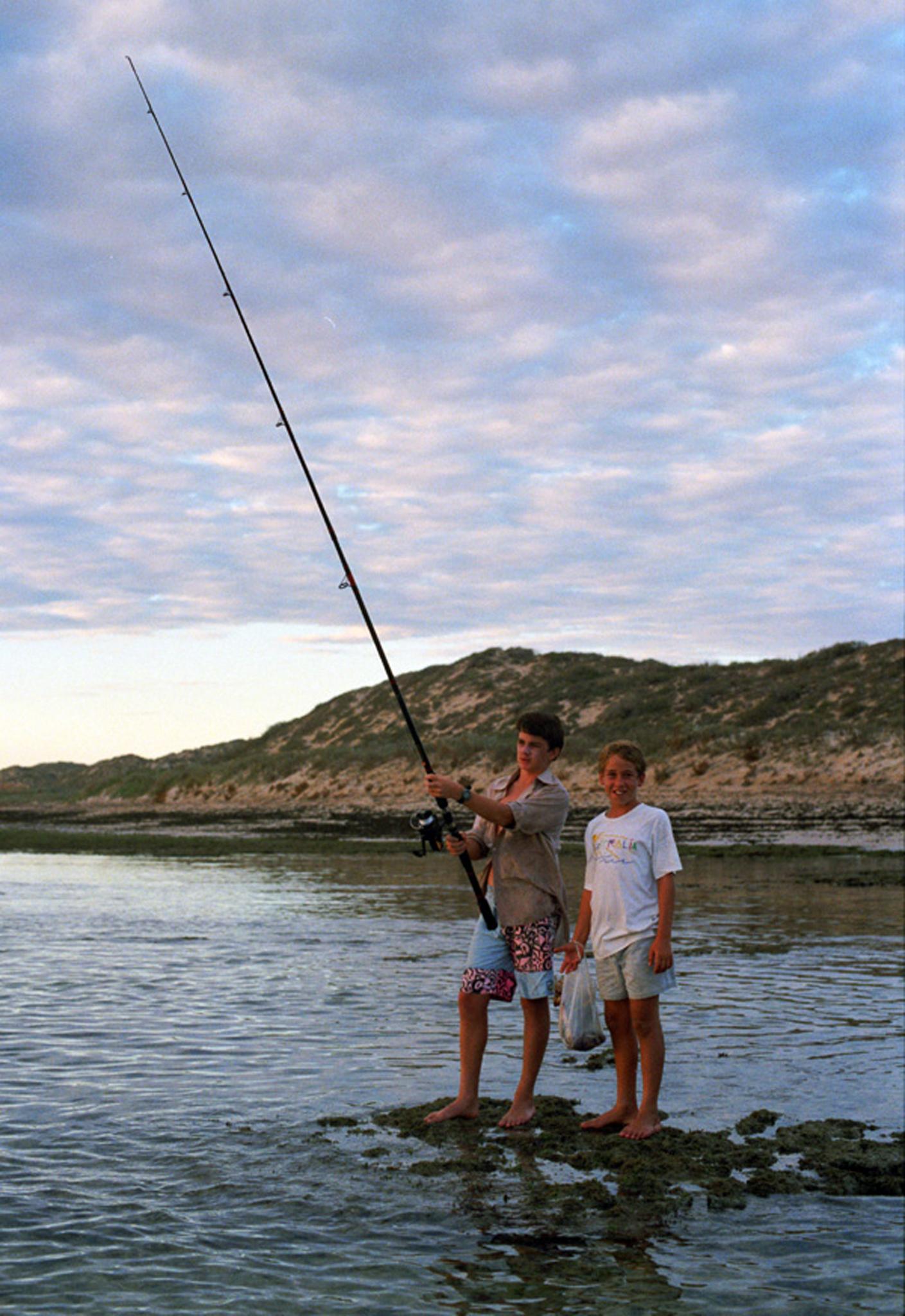 Fishing at Ningaloo