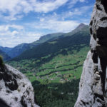 Peering Through a Gap in the Alps