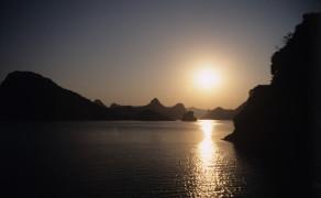 Sunset Over Harlong Bay