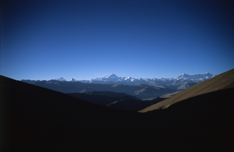 Mount Everest on the Horizon