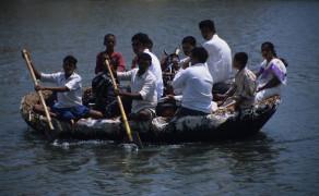 River Crossing in Hampi