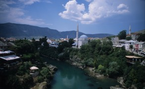 Neretva Through Mostar