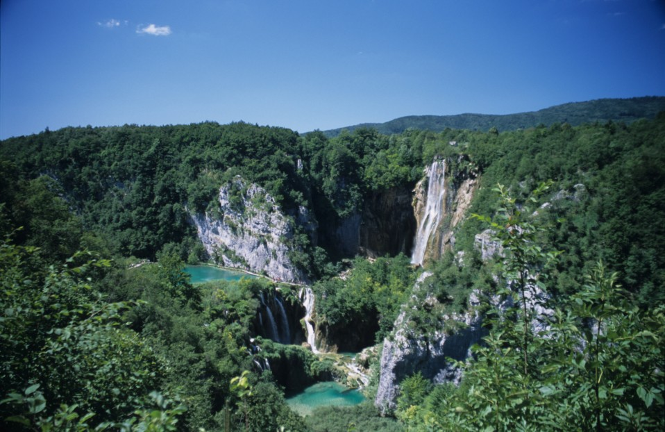 Above Plitvice Lakes