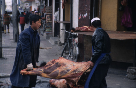 Lugging Meat