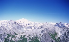 Mountains on Nahuel Huapi Traverse