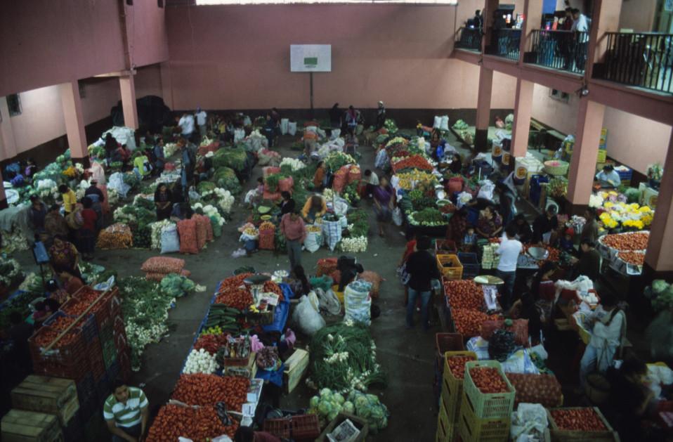 Fresh Produce Pavilion at Chichicastenago Markets