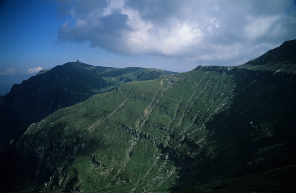 Light and Shadow on Bucegi Mountains