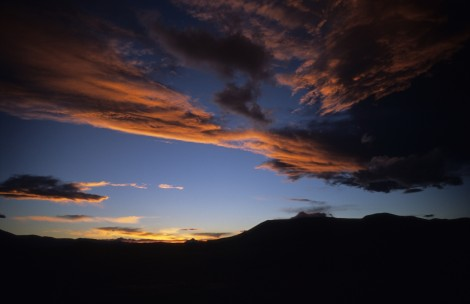 Salar de Uyuni Sunset