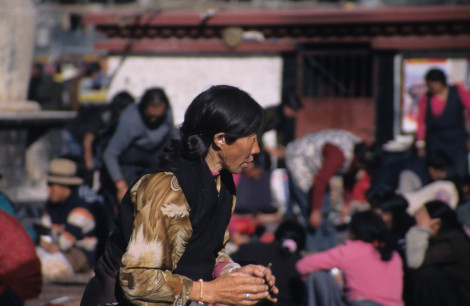 Pilgrim in Lhasa