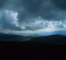 Looking Ominous in the Bucegi Mountains