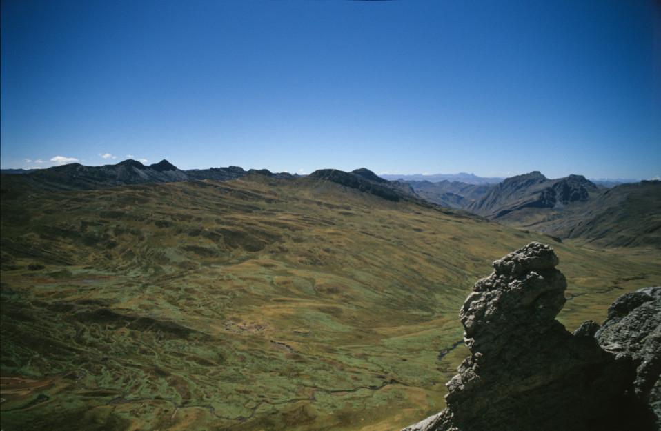 Cordillera Huayhuash Vista