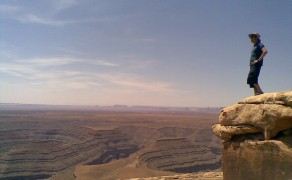 Staring Out Over Glen Canyon