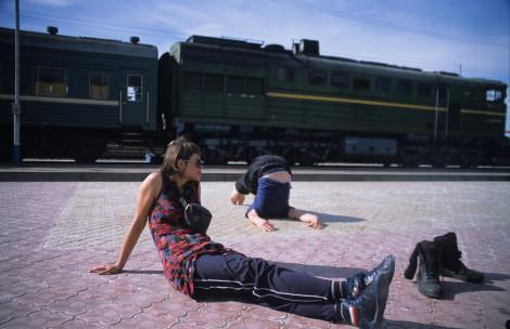 Halasana Chillin' at Kyakhta Border Crossing