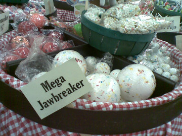 Mega jawbreakers