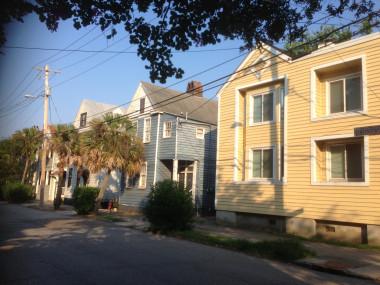 Downtown Charleston Street