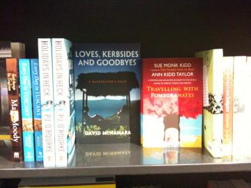 Loves, Kerbsides & Goodbyes on the bookshelves