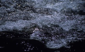 Sunlit Water on El Chorro Inca Trail