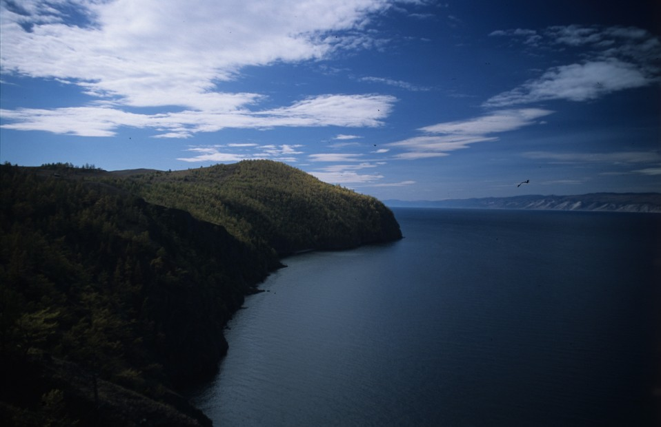View from Olkhon Island