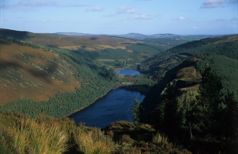 Glendalough Hike Panorama