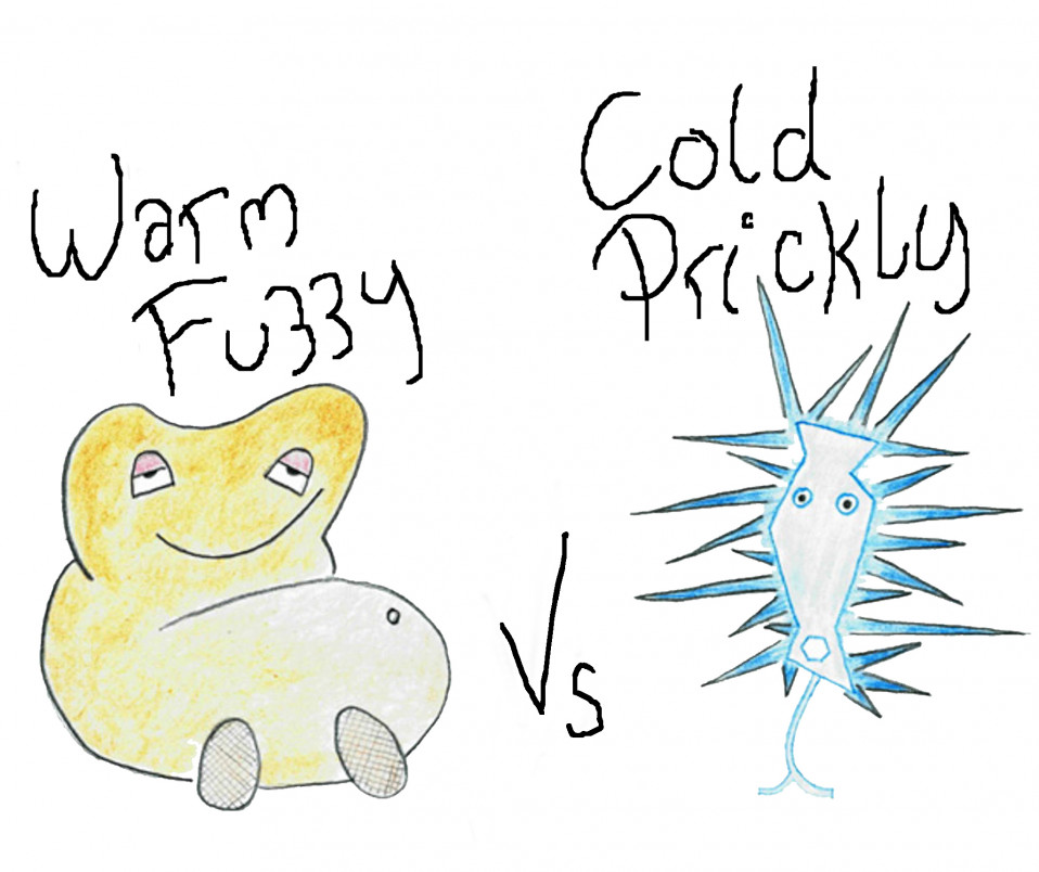 Warm Fuzzy vs Cold Prickly
