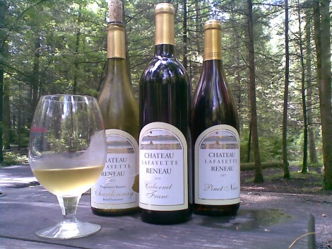 Wine from Finger Lakes New York
