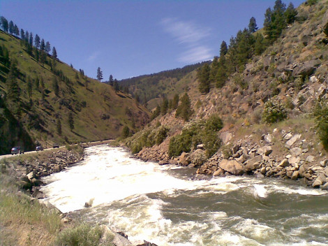 Salmon River in Idaho