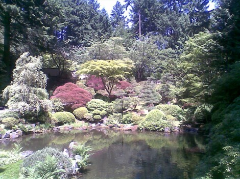 Japanese Gardens in Portland Oregon