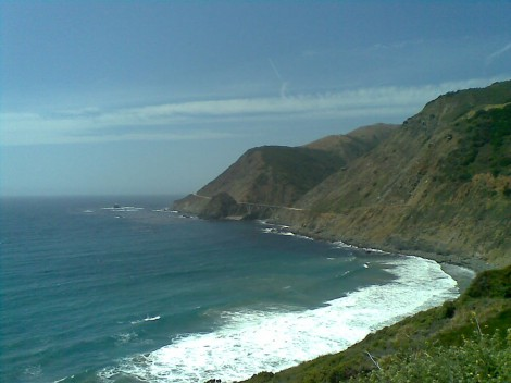 Driving on Highway 1