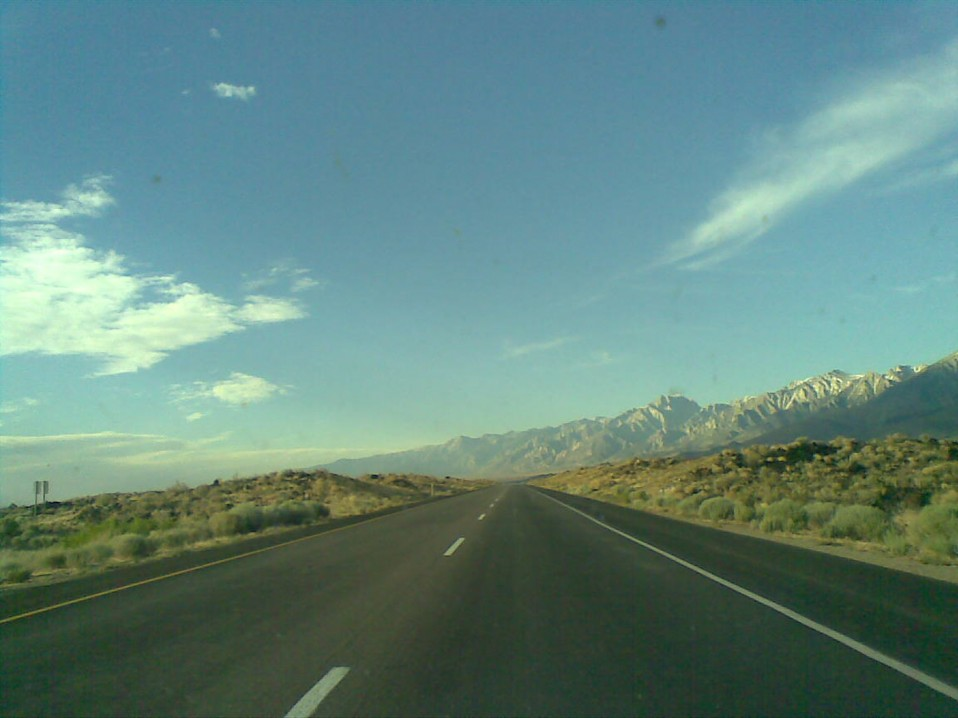 Sierra Nevada Mountains and California