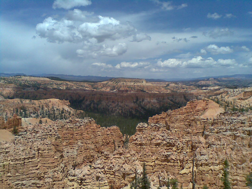 Elevated View of Bryce Canyon