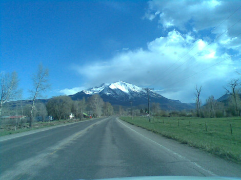 Heading south towards Telluride