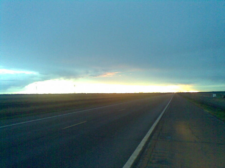 Twilight on the Open Road