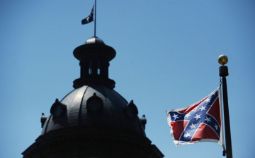 Confederate flag at South Carolina State House