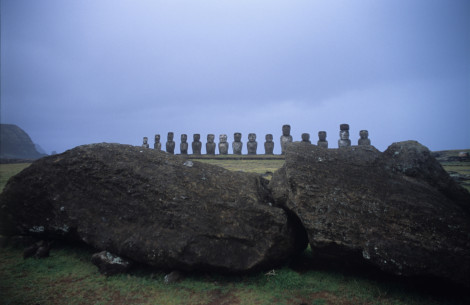 Another Fallen on Easter Island