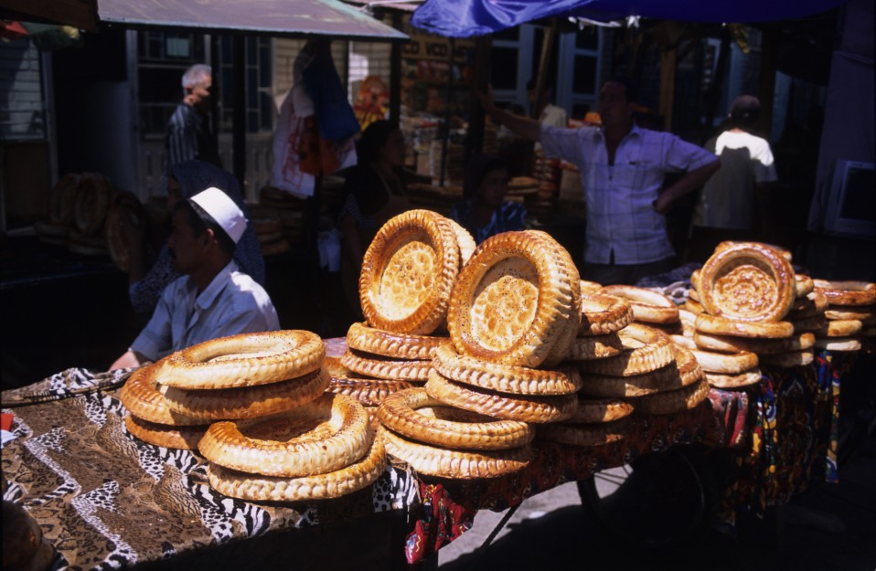 Kyrgyz Nan for Sale in Osh Markets