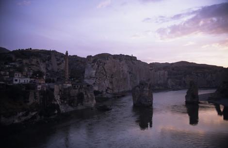 Hasankeyf at Sunset