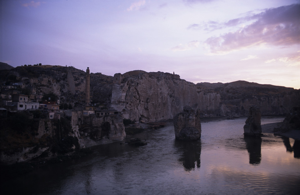 Hasankeyf at Sunset