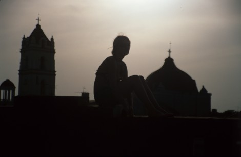 Rooftop View of Cuba