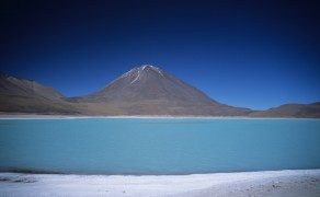 Lake on Salar de Uyuni