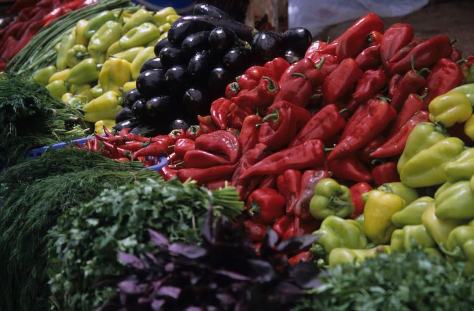 Fresh Produce on the Silk Road