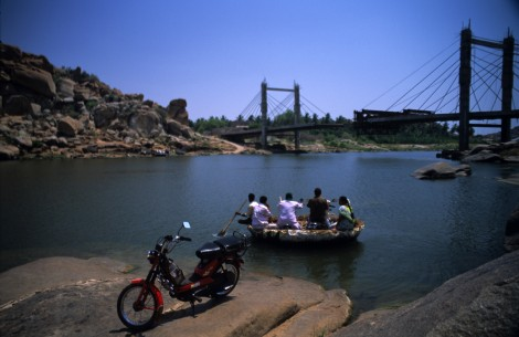 Bridge Out in Hampi