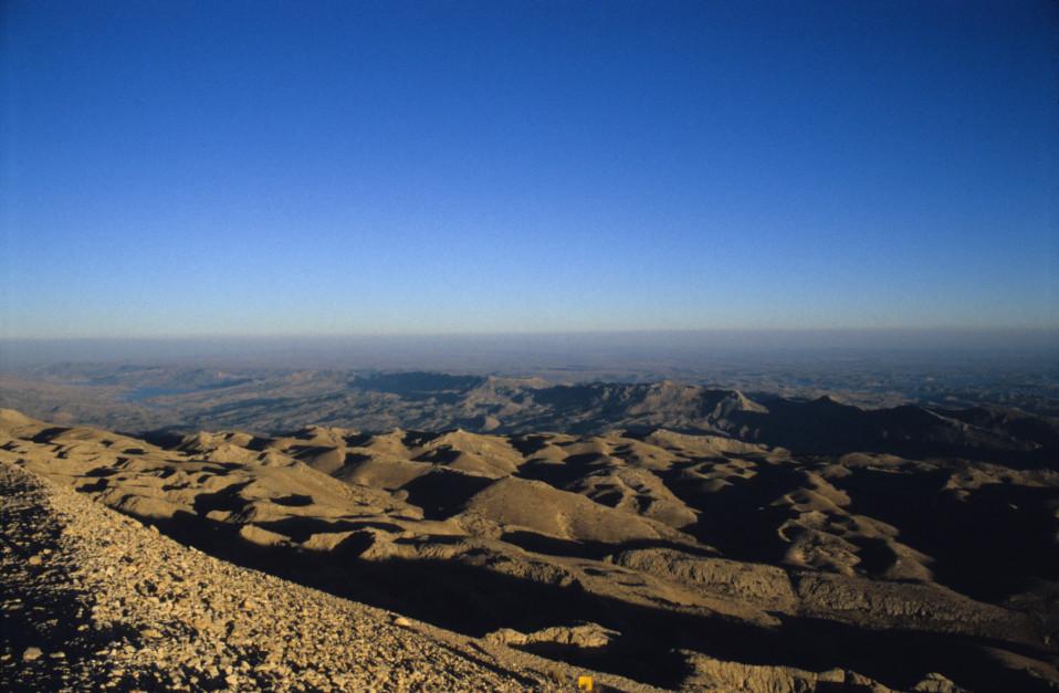 Gods' Eye View from Mount Nemrut