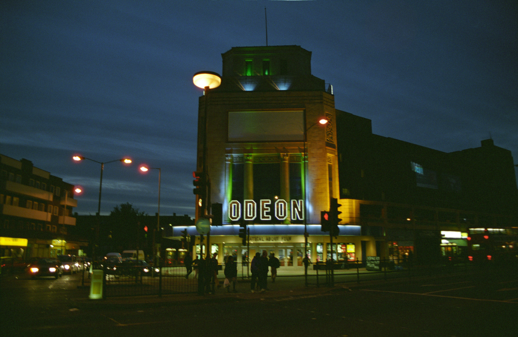 My First Job in Londontown at the Holloway Rd Odeon Cinema